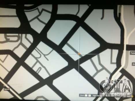 Место расположения вертолета в GTA 5