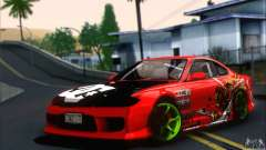 Nissan Silvia S15 Team Drift Monkey для GTA San Andreas