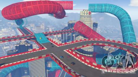 Каскадёрский трэк в GTA Online