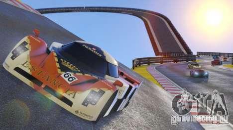 Небесная трасса в GTA Online