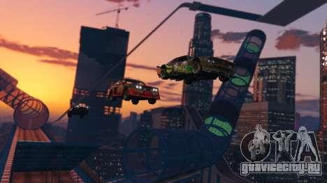 Каскадёрская гонка из GTA Online