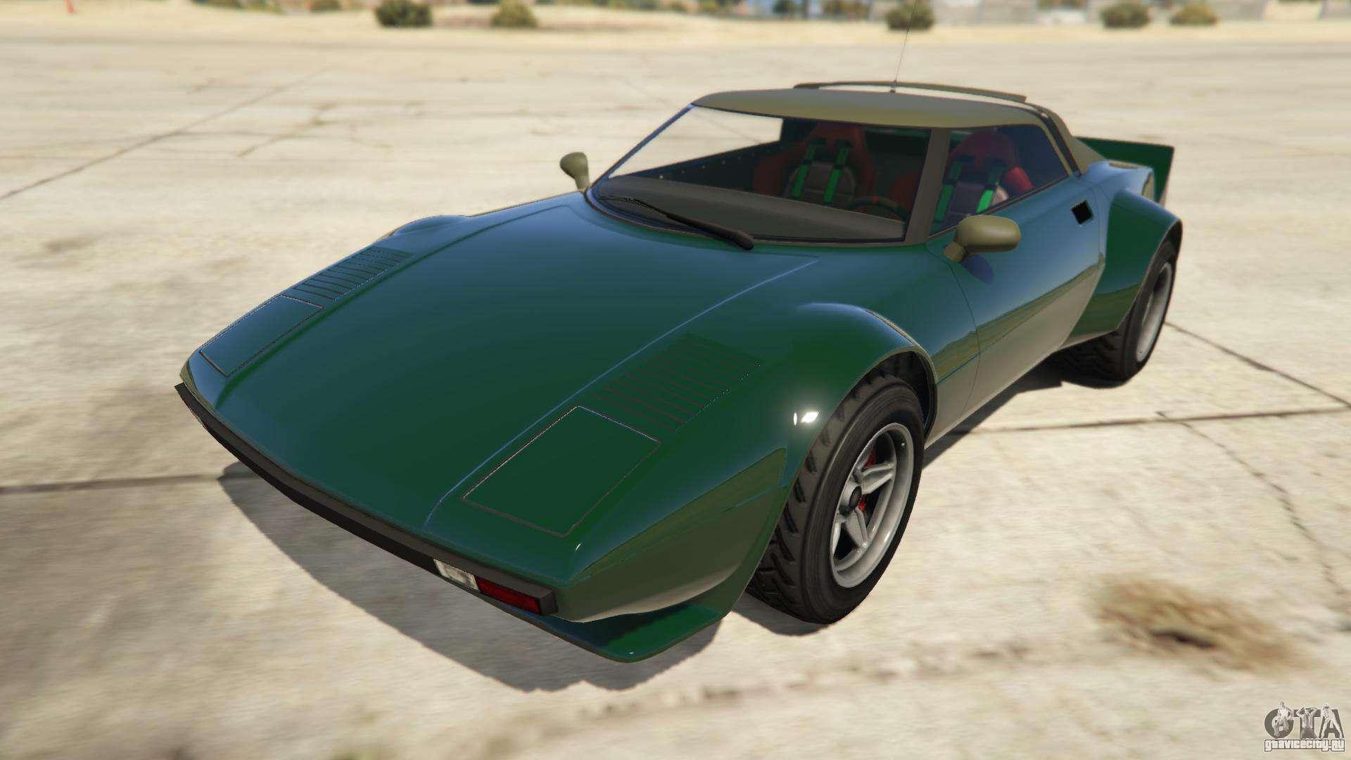 Lampadati Tropos Rallye из GTA Online - вид спереди
