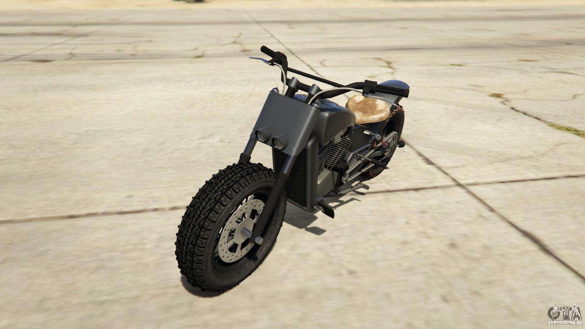 Western Motorcycle Company Gargoyle из GTA Online - вид спереди