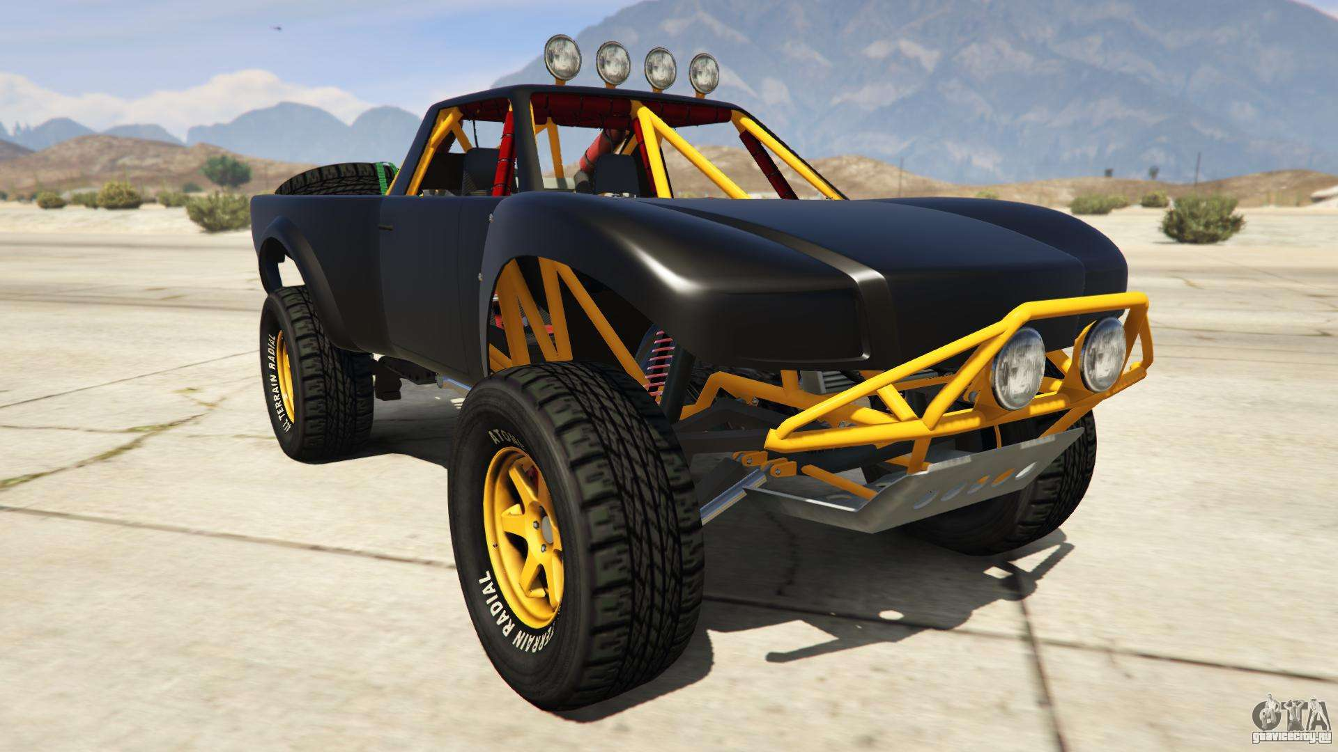 Vapid Trophy Truck из GTA Online - вид спереди
