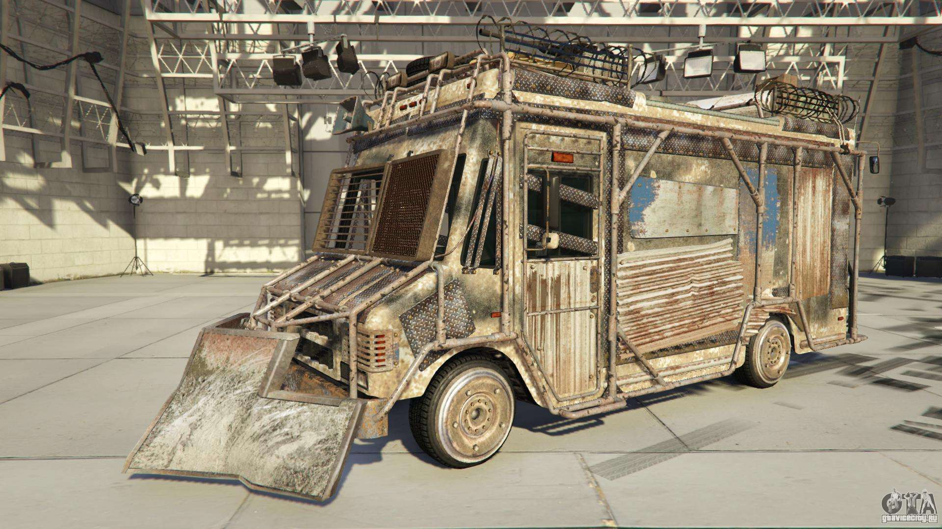Brute Armored Boxville из GTA Online