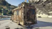 Brute Armored Boxville из GTA Online вид сзади