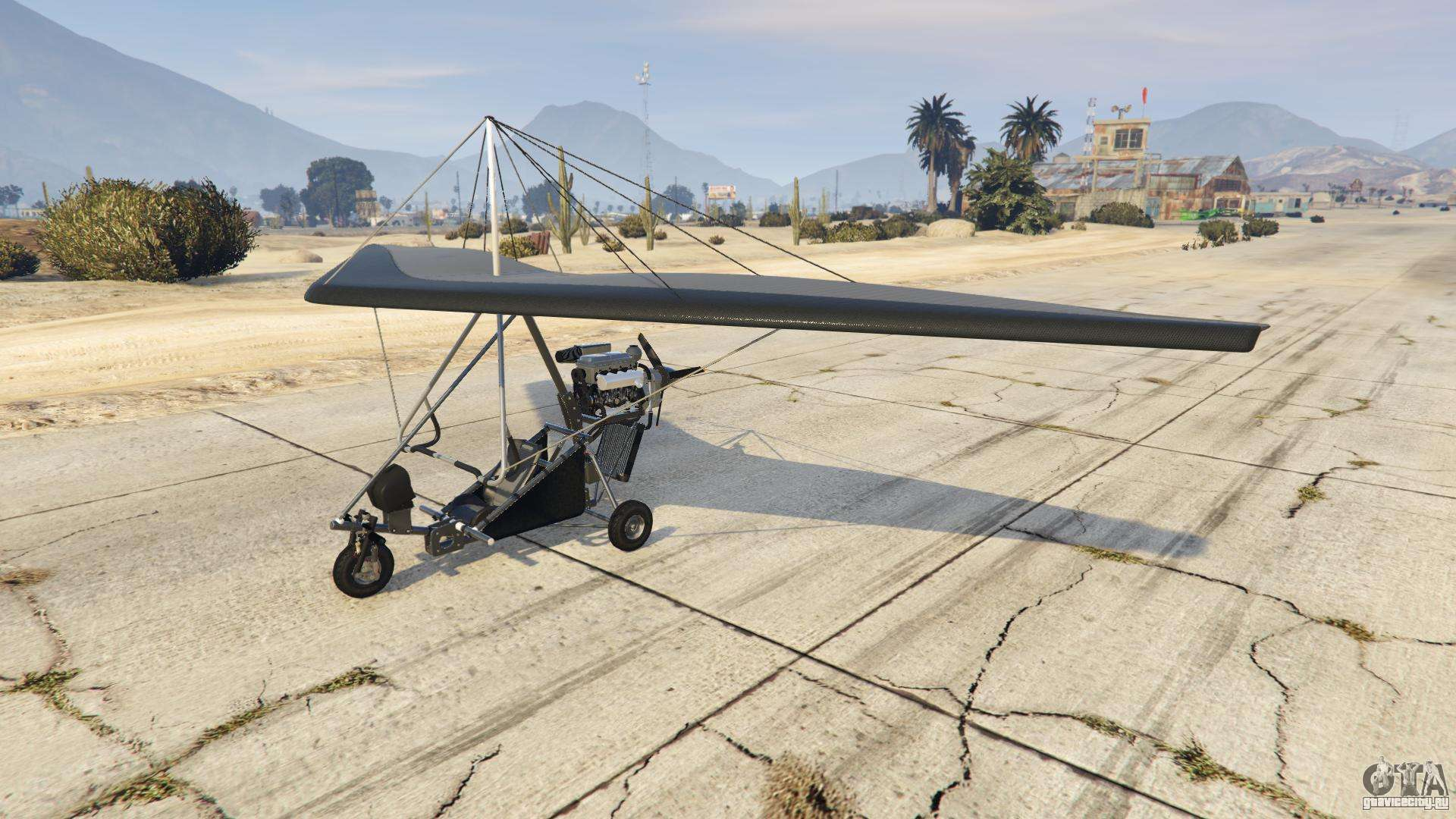 Nagasaki Ultralight из GTA Online