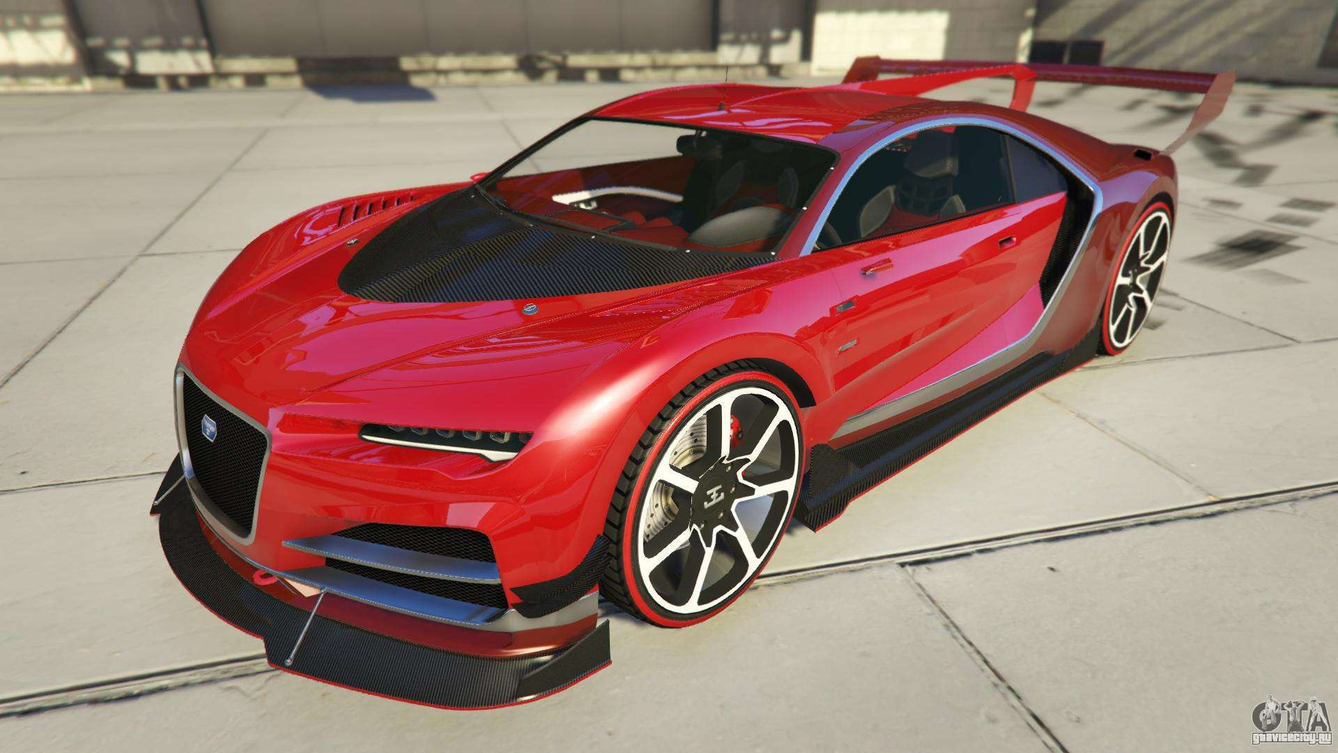 Truffade Nero Custom из GTA Online
