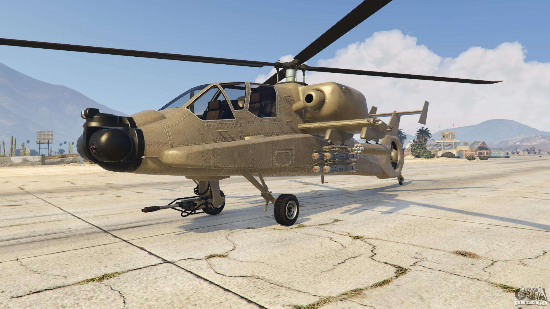 FH-1 Hunter из GTA Online