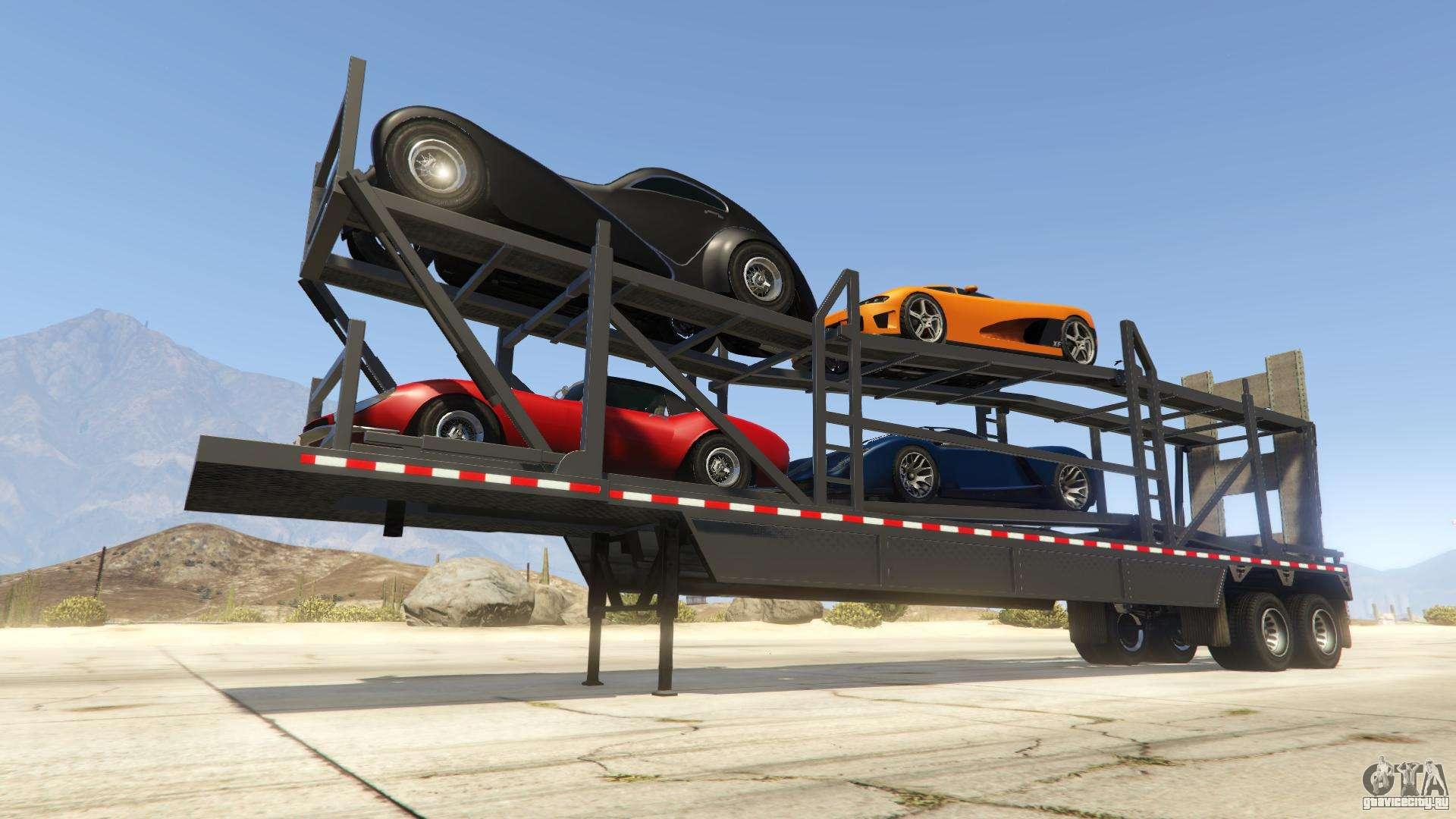 Car Trailer из GTA Online