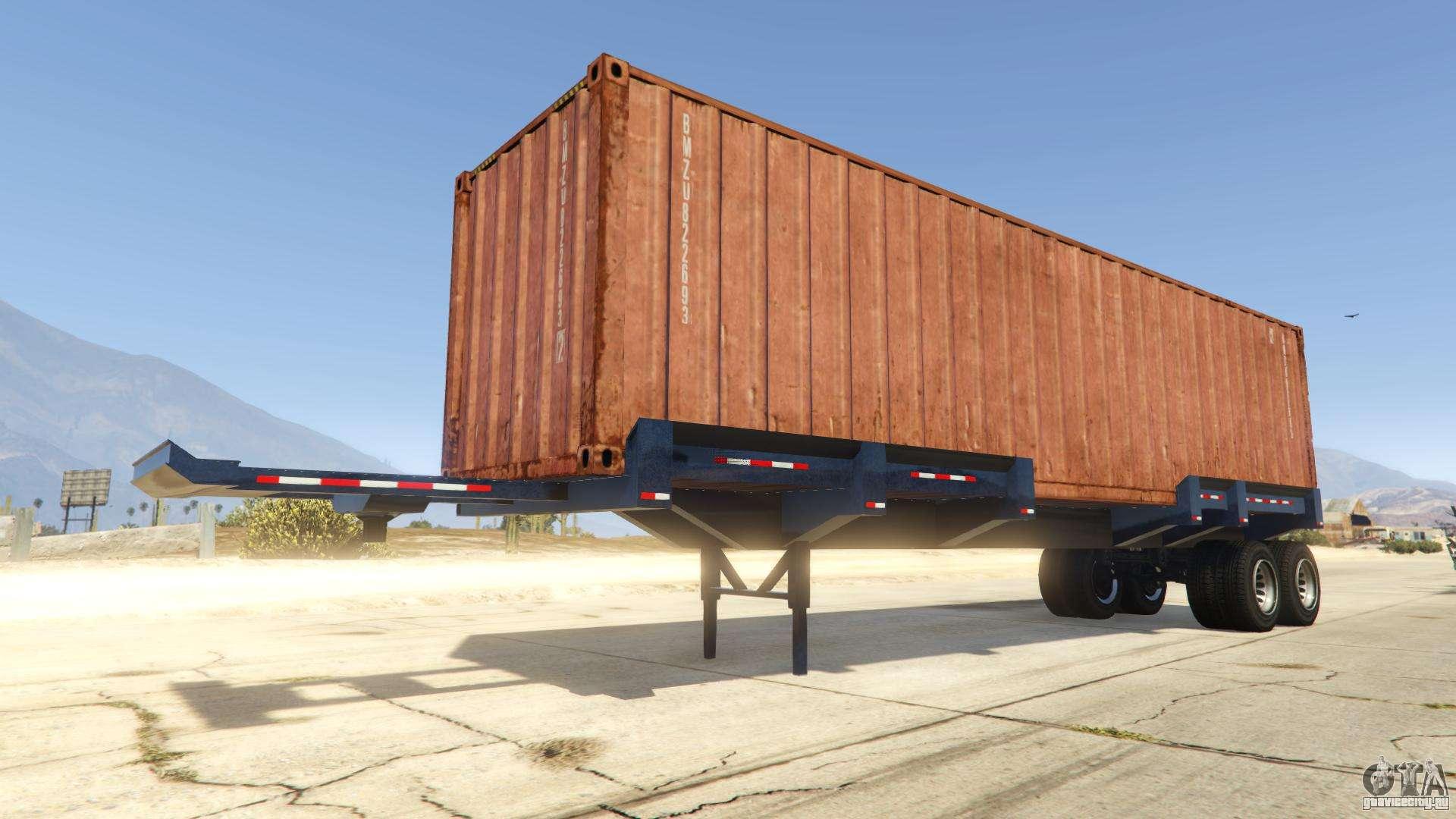 Dock Trailer из GTA Online