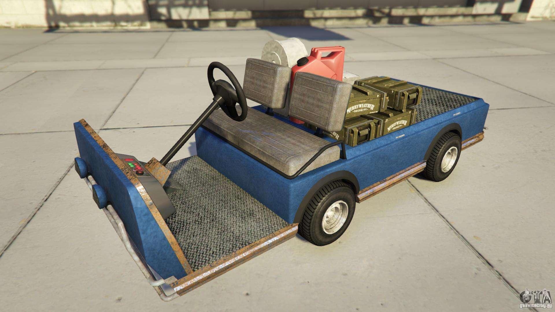 Nagasaky Bunker Caddy из GTA Online