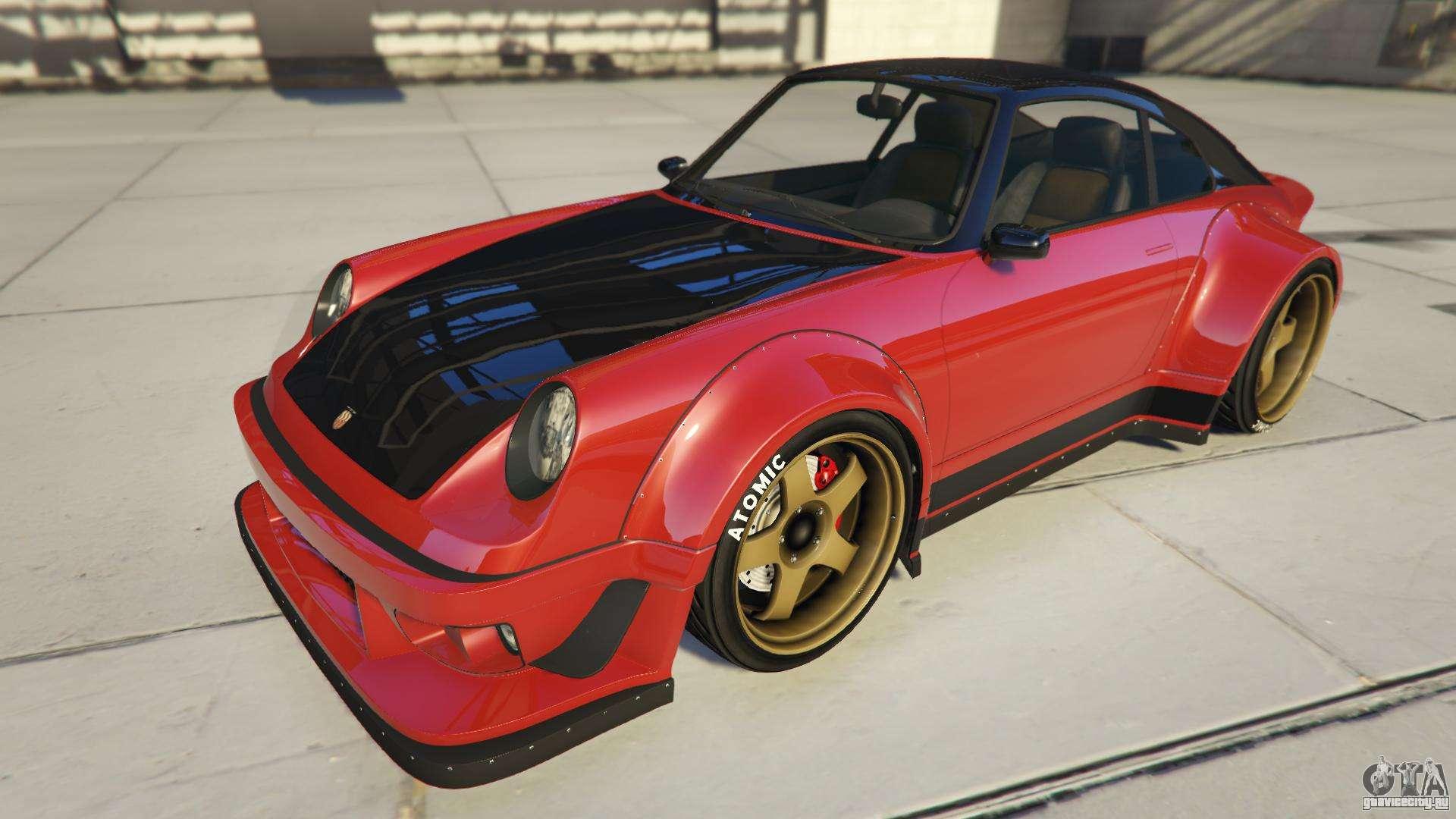 Pfister Comet Retro Custom из GTA Online