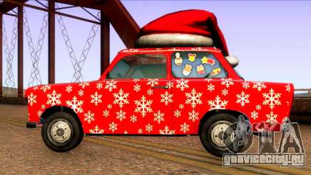 Рождественская машина для GTA San Andreas