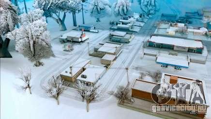 Зимний мод для GTA San Andreas