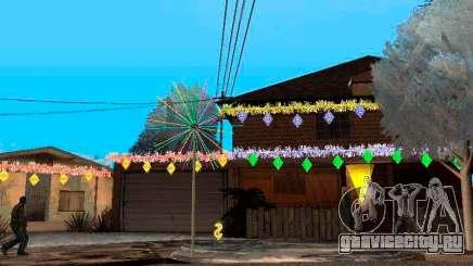 Рождественские украшения в GTA San Andreas