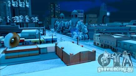 Снежный мод для GTA SA