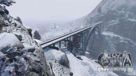 Зима в ГТА 5