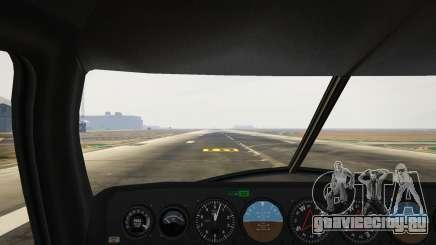 Кабина пилота в ГТА 5