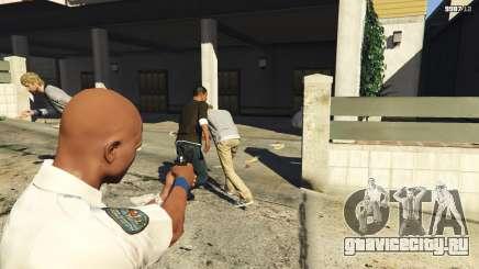 Как быть полицейским в ГТА 5
