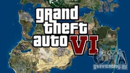 GTA 6 показала огромную карту нового мира