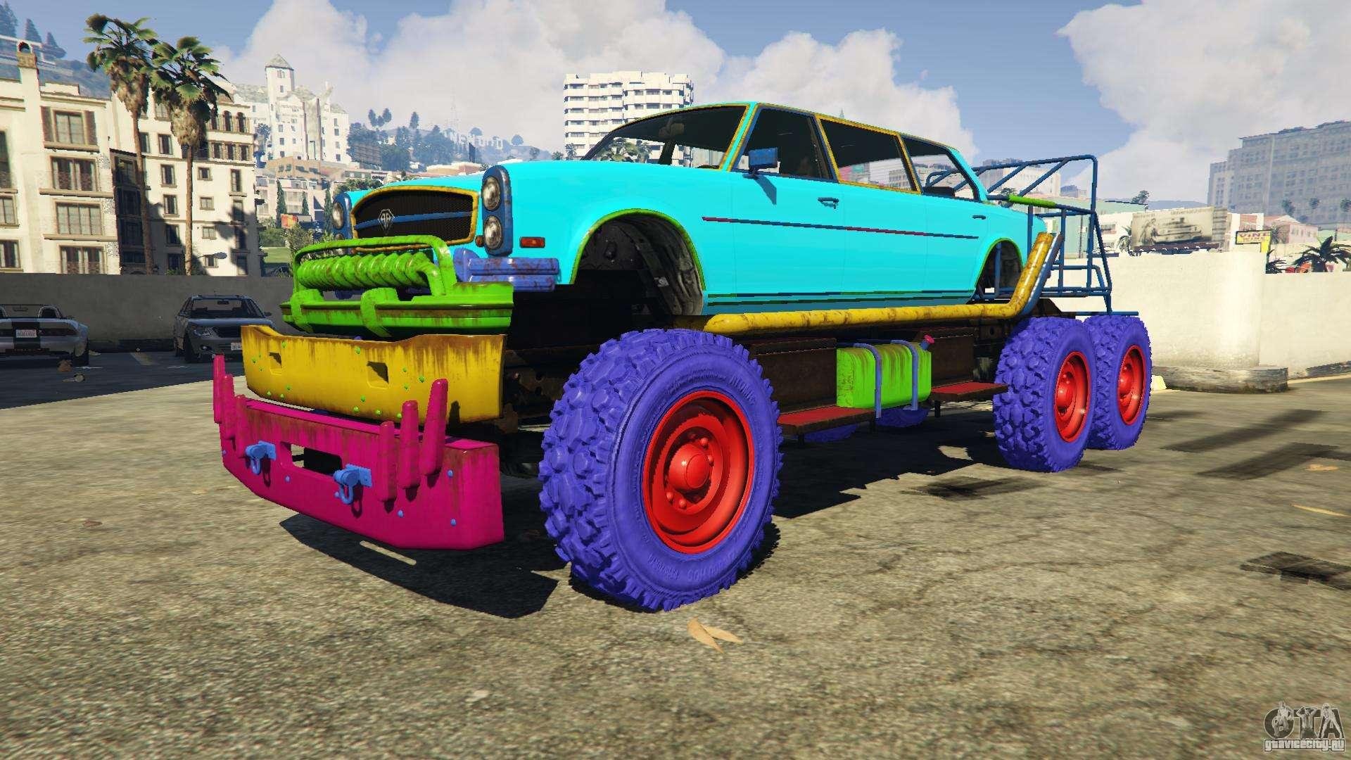 Benefactor Nightmare Bruiser GTA 5