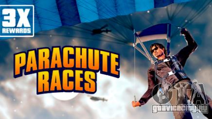 Утроенные награды за гонки на парашютах