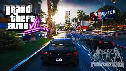 GTA 6 постер