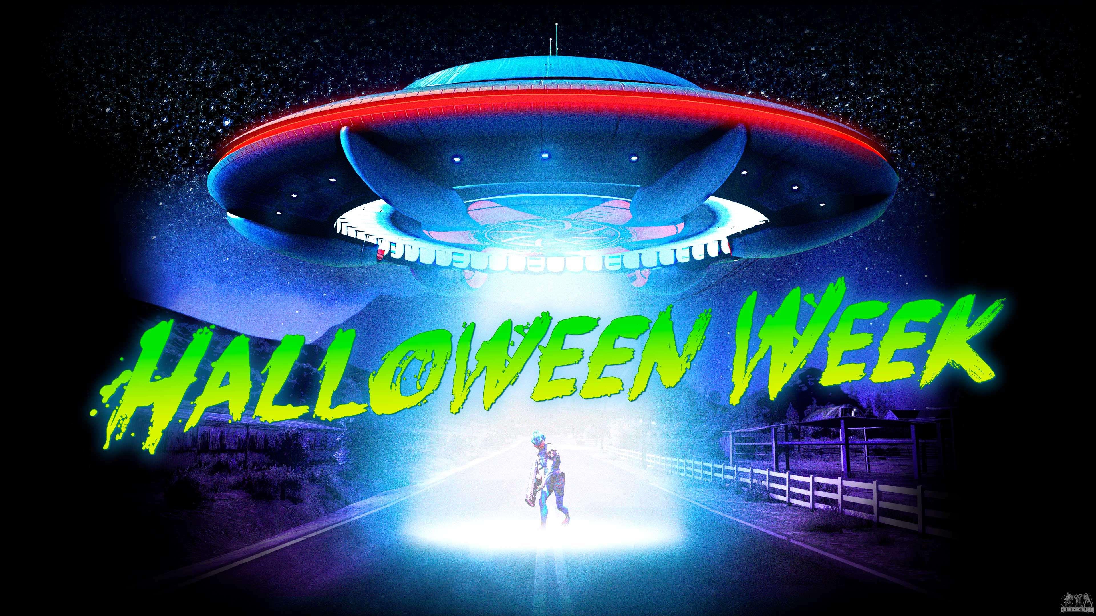 Неделя Хэллоуина в GTA Online