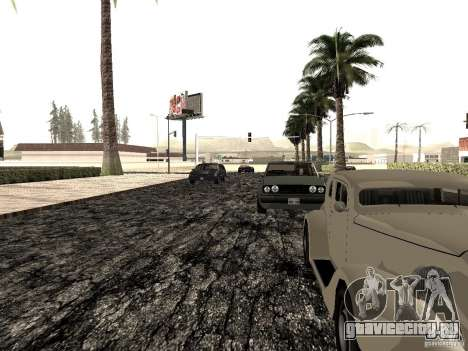 New roads in Las Venturas для GTA San Andreas шестой скриншот