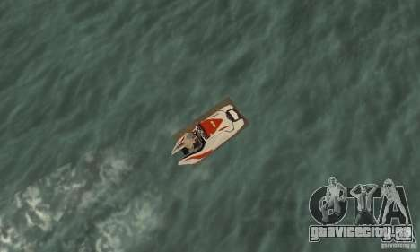Hydrocycle для GTA San Andreas вид справа
