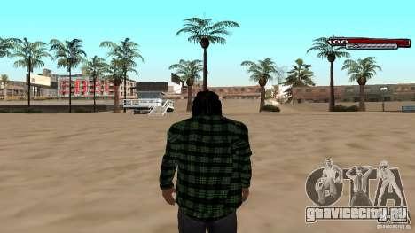 New skin Grove HD для GTA San Andreas второй скриншот