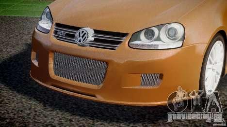 Volkswagen Golf R32 v2.0 для GTA 4 вид сверху