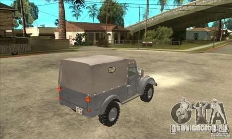 ARO M461 для GTA San Andreas вид справа