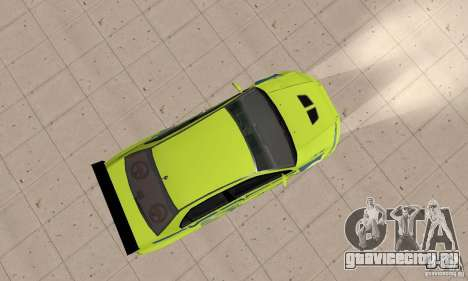 Mitsubishi Lancer Evo The Fast and the Furious 2 для GTA San Andreas вид справа