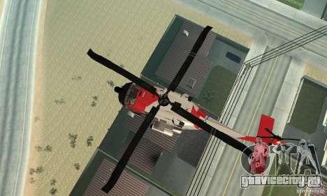 HH-60 Jayhawk USCG для GTA San Andreas вид сбоку