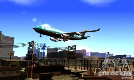 Boeing 747 KLM для GTA San Andreas