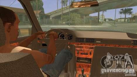 Mersedes-Benz E500 для GTA San Andreas вид сверху