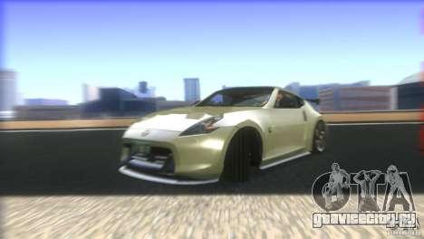 Nissan 370Z Drift 2009 V1.0 для GTA San Andreas вид снизу