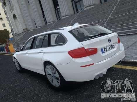 BMW M5 F11 Touring V.2.0 для GTA 4 вид сзади слева