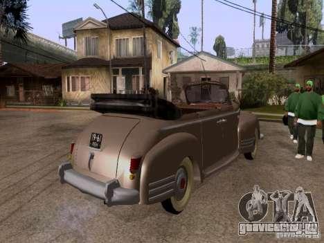 ЗиС-110Б Фаэтон для GTA San Andreas вид сзади слева