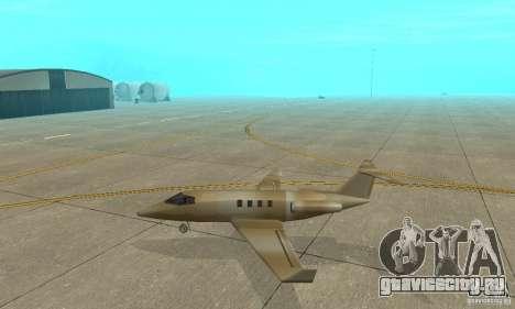 Gold shamal для GTA San Andreas вид слева