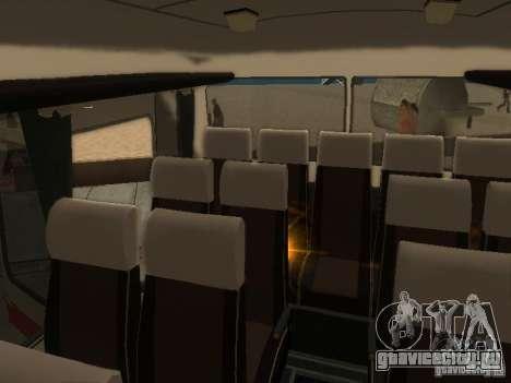 ЛАЗ 699Р 98 021 для GTA San Andreas вид сверху