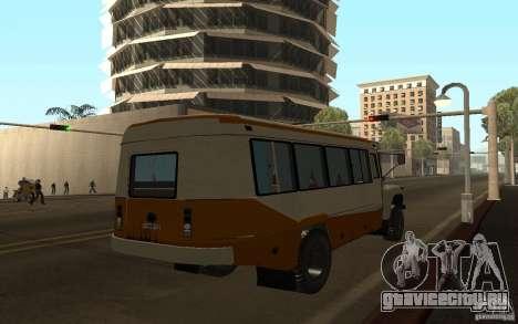 КАвЗ 3976 КАВЗОЗИЛ для GTA San Andreas вид сзади