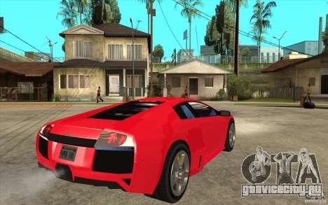 Lamborghin Murcielago LP640 v2 для GTA San Andreas вид справа