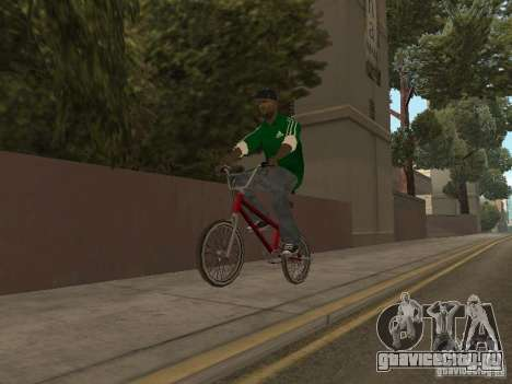 New Sweet для GTA San Andreas пятый скриншот