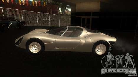 Alfa Romeo Tipo 33 Stradale для GTA San Andreas вид слева