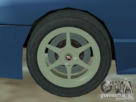 Elegy Кабрио для GTA San Andreas вид изнутри