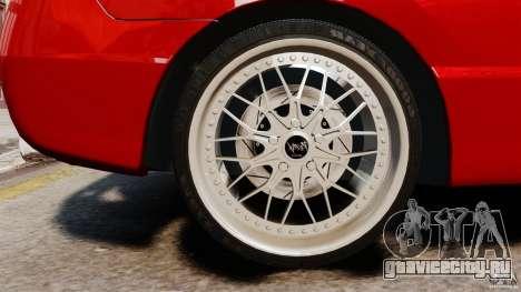 Honda Civic Si для GTA 4 вид сзади