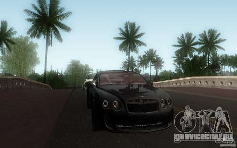 Bentley Continental SS для GTA San Andreas вид сбоку